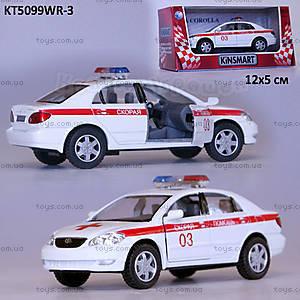 Машина Toyota Corolla «Скорая помощь», KT5099WR-3