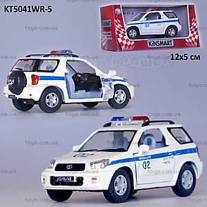 Машина Toyota RAV4 «Милиция», KT5041WR-5