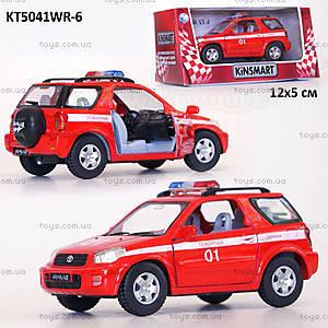 Машина Toyota RAV4 «Пожарная», KT5041WR-6