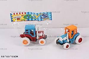 Машина «Трактор», инерционная, 2020