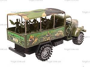 Машина военная с инерцией, AS818-5, купить