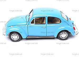 Машина Volkswagen Beetle Hard Top, 22436W, игрушки