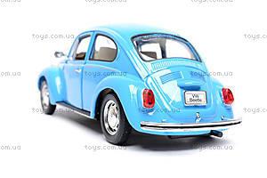 Машина Volkswagen Beetle Hard Top, 22436W, детские игрушки