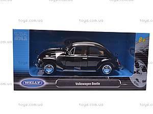 Машина Volkswagen Beetle Hard Top, 22436W, іграшки