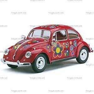 Машина Volkswagen Classic Beetle 1967, с рисунком, 7002WF