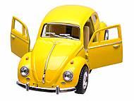 Машина Volkswagen Classical Beetle 1967, KT5057W, игрушки