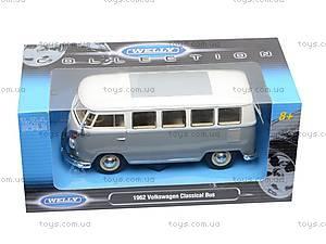 Машина Volkswagen Classical Bus 1962, 22095W, отзывы
