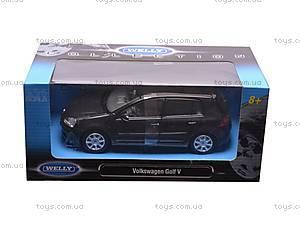 Машина Volkswagen Golf V, 22458W, игрушки