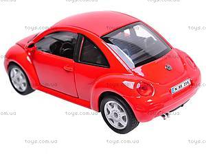 Машина Volkswagen New Beetle, 22080W, фото
