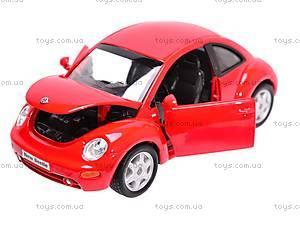 Машина Volkswagen New Beetle, 22080W, отзывы