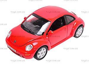 Машина Volkswagen New Beetle, 22080W, цена