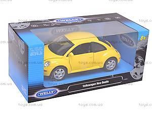 Машина Volkswagen New Beetle, 22080W, игрушки