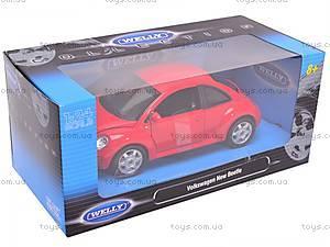 Машина Volkswagen New Beetle, 22080W, детские игрушки