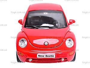 Машина Volkswagen New Beetle, 22080W, магазин игрушек