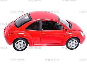 Машина Volkswagen New Beetle, 22080W, toys