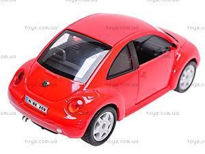 Машина Volkswagen New Beetle, 22080W, іграшки