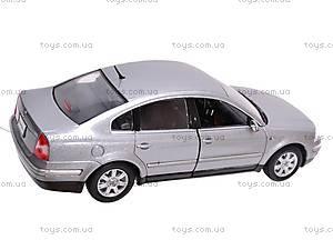 Машина Volkswagen Passat Sedan 2001, 22426W, магазин игрушек
