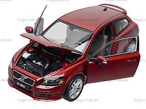 Машина Volvo C30 , 22483W, toys.com.ua