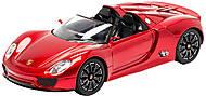 Машинка 1:14 Meizhi Porsche (красный), MZ-2046r