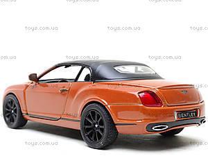 Машинка Bentley Continental, KT5353W, toys.com.ua