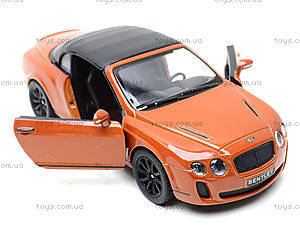 Машинка Bentley Continental, KT5353W, toys