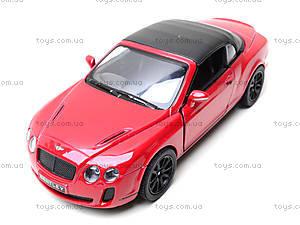 Машинка Bentley Continental, KT5353W, набор