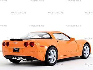 Машинка Chevrolet Corvette Z06, KT5320W, toys.com.ua