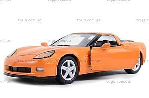 Машинка Chevrolet Corvette Z06, KT5320W, toys
