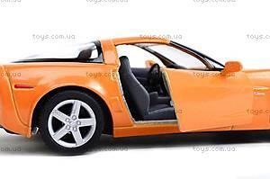 Машинка Chevrolet Corvette Z06, KT5320W, іграшки