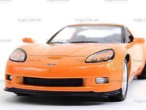 Машинка Chevrolet Corvette Z06, KT5320W, детский