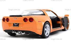 Машинка Chevrolet Corvette Z06, KT5320W, доставка