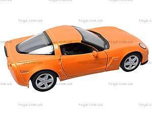 Машинка Chevrolet Corvette Z06, KT5320W, отзывы