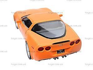 Машинка Chevrolet Corvette Z06, KT5320W, игрушки