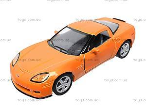 Машинка Chevrolet Corvette Z06, KT5320W, магазин игрушек
