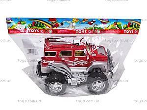 Машинка детская инерционная «Джип», 369-P, детские игрушки