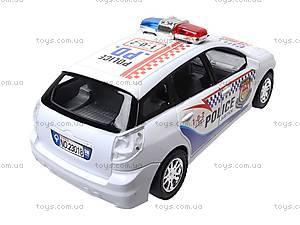 Машинка детская инерционная «Полиция», 23018-4, купить