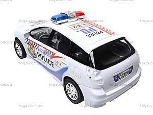 Машинка детская инерционная «Полиция», 23018-4, фото