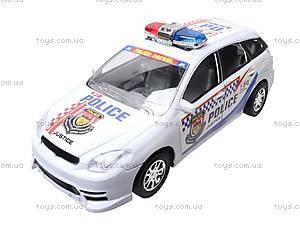 Машинка детская инерционная «Полиция», 23018-4, отзывы