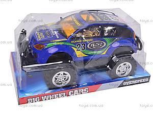 Машинка «Джип» инерционная , 6898, игрушки