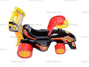 Машинка для катания «Формула», 3084, фото