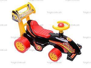 Машинка для катания «Формула», 3084