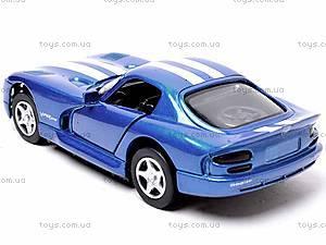 Машинка Dodge Viper GTS Coupe, 52303B, купить