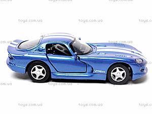 Машинка Dodge Viper GTS Coupe, 52303B, фото