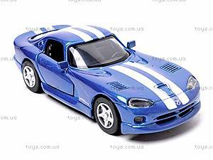 Машинка Dodge Viper GTS Coupe, 52303B