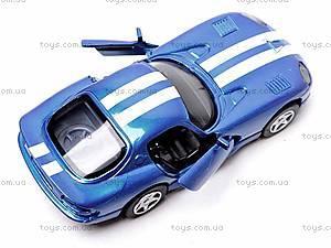 Машинка Dodge Viper GTS Coupe, 52303B, отзывы