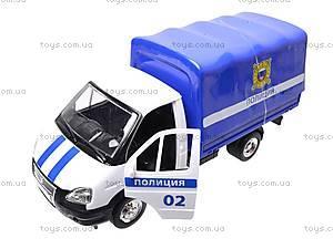 Машинка Газель «Полиция», 9557-B, купить