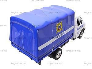 Машинка Газель «Полиция», 9557-B, фото