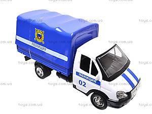 Машинка Газель «Полиция», 9557-B, отзывы