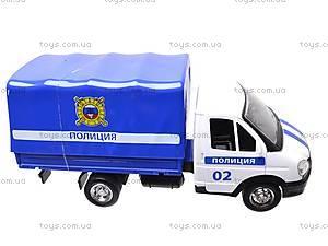 Машинка Газель «Полиция», 9557-B, цена