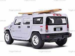 Машинка Hummer H2 с доской для серфинга, KT5337WS1, цена